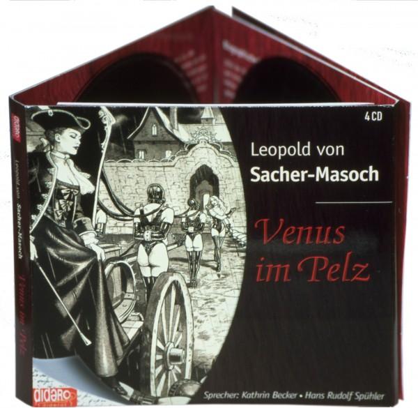 Venus im Pelz Kartonage für 4 CDs, Cover von Sarday